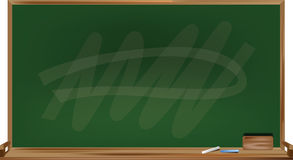 Blackboard vector abstract. Blackboard vector design of illustrator for teacher and student  in school writting study Royalty Free Stock Image