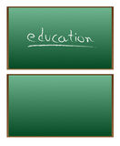 Blackboard vector illustration Stock Photos