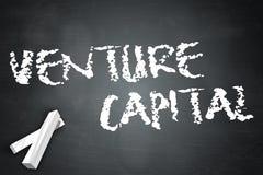 Blackboard Venture Capital. Blackboard with Venture Capital wording Stock Photos