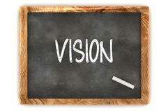 Blackboard Vision Royalty Free Stock Photography
