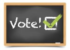Blackboard Vote Royalty Free Stock Photos