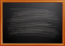 Blackboard w drewnianej ramie Fotografia Stock