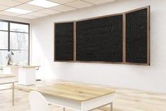 Blackboard w sala lekcyjnej Fotografia Stock
