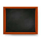 Blackboard  on white Stock Images