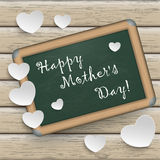 Blackboard Wood Mothers Day Royalty Free Stock Image