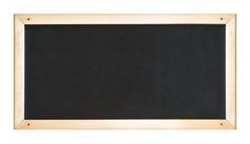 Blackboard in wooden frame Stock Images