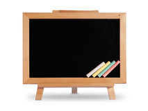 Blackboard wooden frame Royalty Free Stock Photography