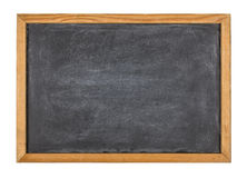Blackboard with a wooden frame Stock Images