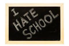 Blackboard written Royalty Free Stock Image