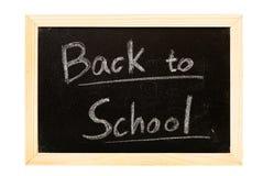 Blackboard written Royalty Free Stock Photo