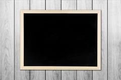 blackboard z drewnianą ramą, blackboard Obraz Stock