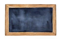 blackboardblankocheckillustrationer mer min var god portföljbrevpapper Hand dragen målarfärg för vattenfärg på vit, isolat vektor illustrationer