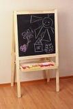 blackboardförträning Royaltyfria Bilder