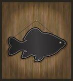 blackboardfisk Royaltyfri Bild
