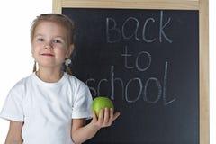 blackboardflicka little royaltyfria bilder
