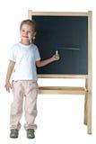 blackboardflicka little arkivfoton