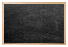 blackboardmellanrum Fotografering för Bildbyråer