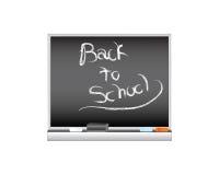 blackboardskolavektor Arkivbild