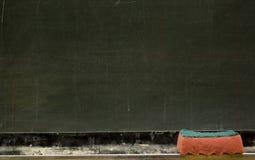 blackboardskrivbord Fotografering för Bildbyråer