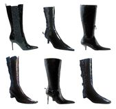BlackBoots Royalty Free Stock Photography