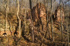 Blackboulez les mines en Illinois Image stock