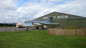 Blackburn buccaneer. Built in brough east Yorkshire this buccaneer aircraft was once a royal navy plane royalty free stock photography