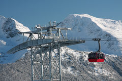 Blackcomb Gondola Royalty Free Stock Photo