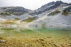 Blackcomb See in einer Sommerzeit stockbilder