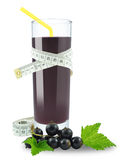 Blackcurrant juice Stock Photos