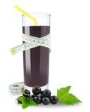 Blackcurrant juice Stock Photos