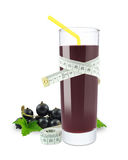 Blackcurrant juice Stock Photo