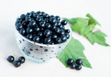 Blackcurrants Royalty Free Stock Photo