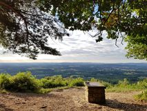 Blackdown. A view from The Temple of the Winds blackdown Stock Photos