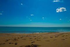Blacket Sea Royaltyfria Foton