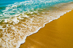 Blacket Sea Royaltyfri Foto