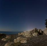 Blacket Sea, Abchazien Fotografering för Bildbyråer