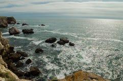 Blacket Sea från Bulgarien Arkivfoton
