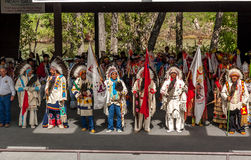 Blackfoot Elders Royalty Free Stock Images