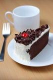 Blackforest, bolo de chocolate Imagens de Stock