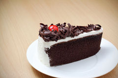 Blackforest, bolo de chocolate Fotografia de Stock Royalty Free