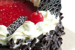 Blackforest, chocolate cake Royalty Free Stock Images