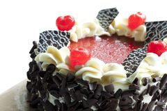 Blackforest, chocolate cake Stock Images