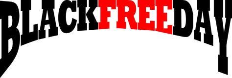 Blackfree friday royalty free illustration