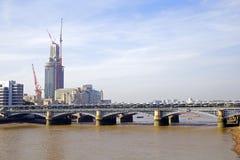 Blackfriars桥梁 免版税库存图片