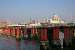 Blackfriars bridge Royalty Free Stock Image