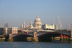 Blackfriars bridge Stock Image