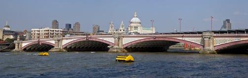 Blackfriars Bridge in London Stock Images