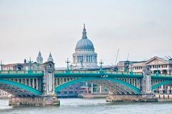 Blackfriars Bridge at London, England Stock Image