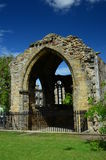 Blackfriars Chapel. A view of the ruins of Blackfriars chapel in St. Andrews Royalty Free Stock Photography
