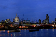 blackfriars most. Zdjęcie Royalty Free